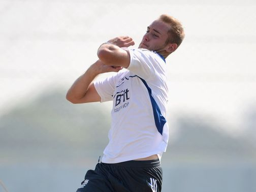 Broad: More problems with his heel