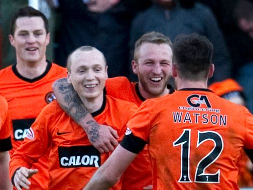 Dundee United: Houston wants better