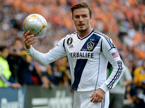 David Beckham: Set to join PSG on deadline day