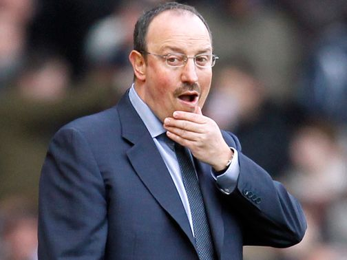 Life is tough at Chelsea for Rafael Benitez