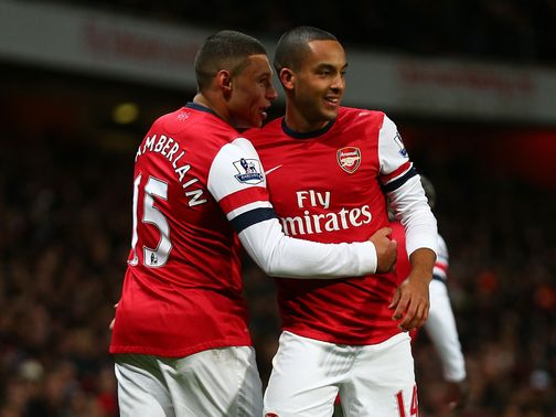 Theo Walcott: Backing from Alex Oxlade-Chamberlain