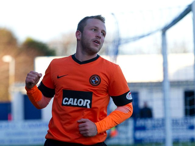Johnny Russell: Star of the show for Dundee United