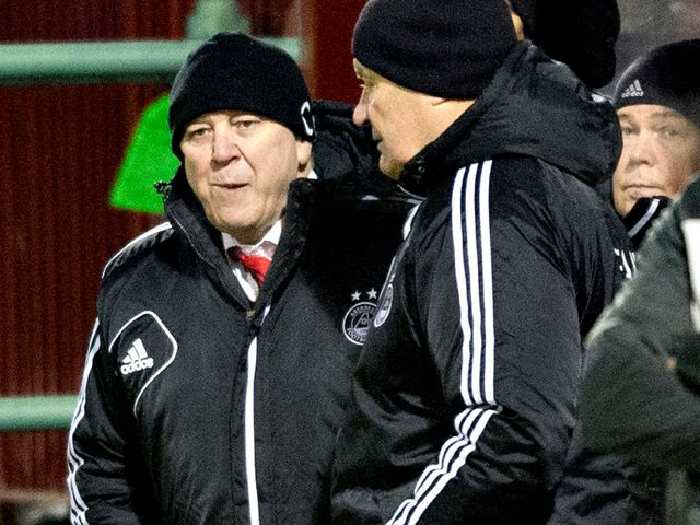 Craig Brown: Impressed with Dons' recent run