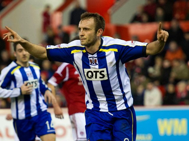 Liam Kelly scored for Kilmarnock