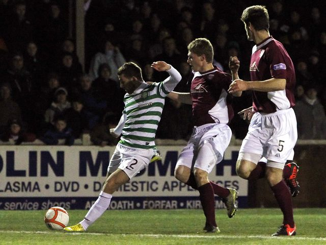 Adam Matthews scores for Celtic