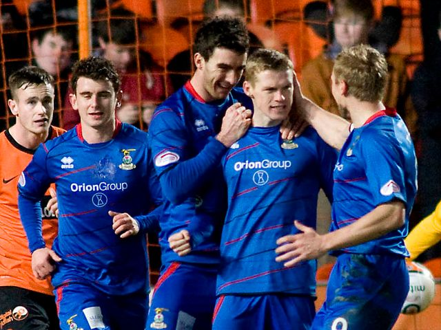 Billy McKay scored a hat-trick for Inverness