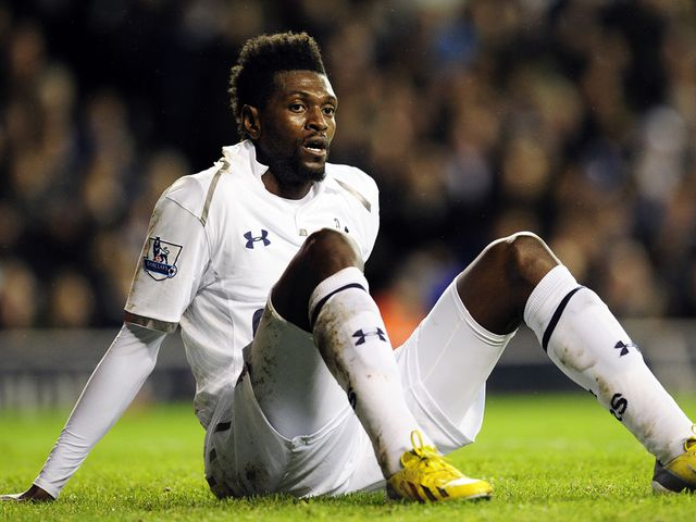 Emmanuel Adebayor: Could leave Tottenham