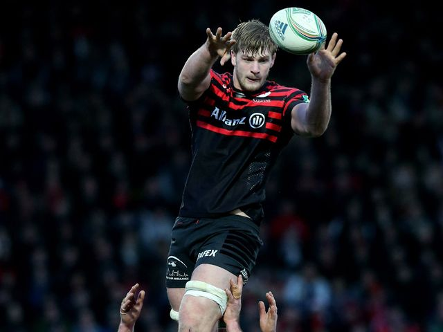 George Kruis: Packs down alongside Steve Borthwick