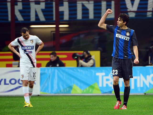 Woe for Palermo as Inter win.