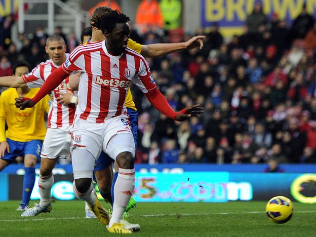 Kenwyne Jones: Stoke striker wanted by Swansea
