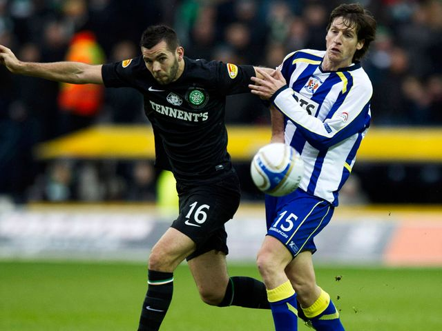 Joe Ledley tangles with Borja