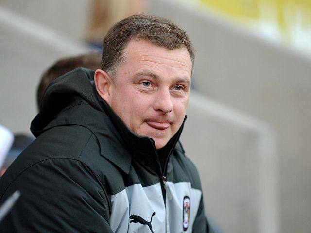 Mark Robins: Coventry boss saw his team defeat Preston