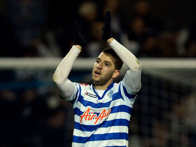 Adel Taarabt claps the Loftus Road fans