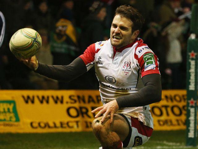 Jared Payne: Try scorer for Ulster