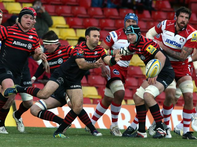 Neil de Kock looks to get Saracens going