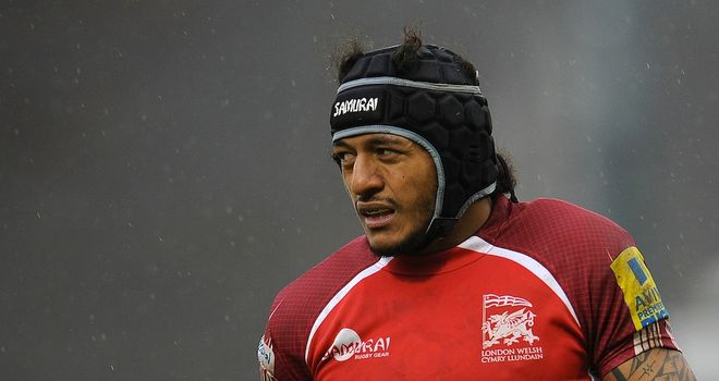 Hudson Tonga'uiha: New deal with London Welsh