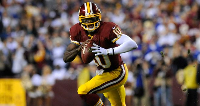 Robert Griffin III: Set to return from knee injury against Philadelphia Eagles