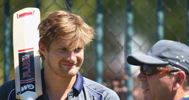 Shane Watson: dropping down a position to number four