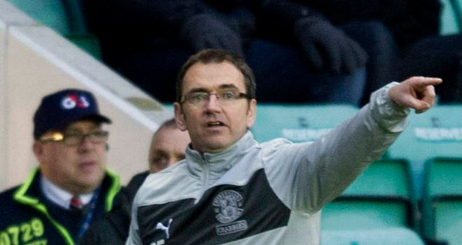Pat Fenlon: Unhappy with a Hibernian loss at the Easter Road Stadium