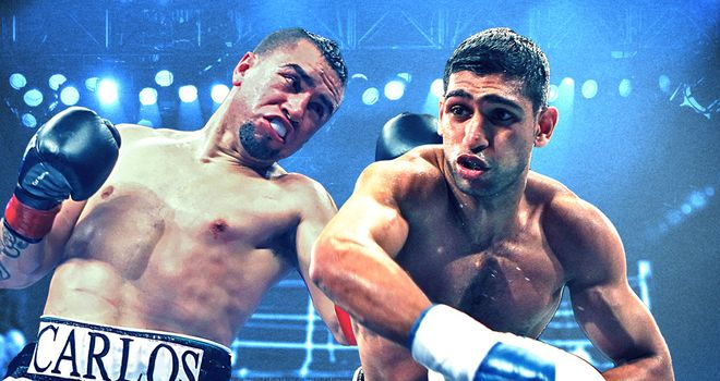 Khan takes on unbeaten American Molina in Los Angeles this weekend