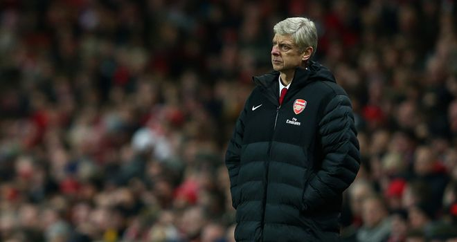 Arsene Wenger: Under pressure after Capital One Cup defeat by Bradford City