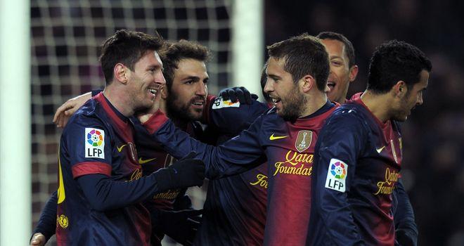 Barcelona: Face Osasuna this weekend