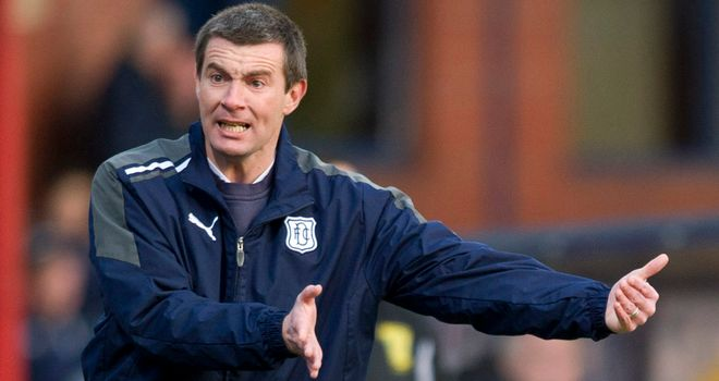 Barry Smith: Not happy with Dundee