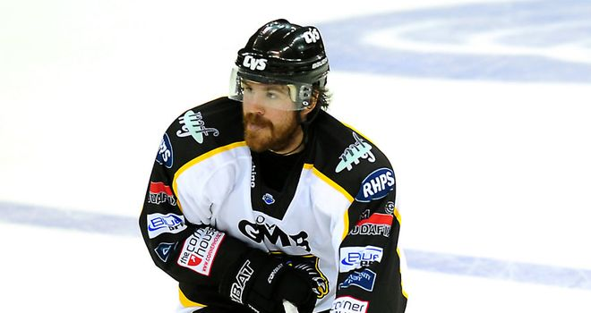 Brandon Benedict: Was on target for Nottingham Panthers