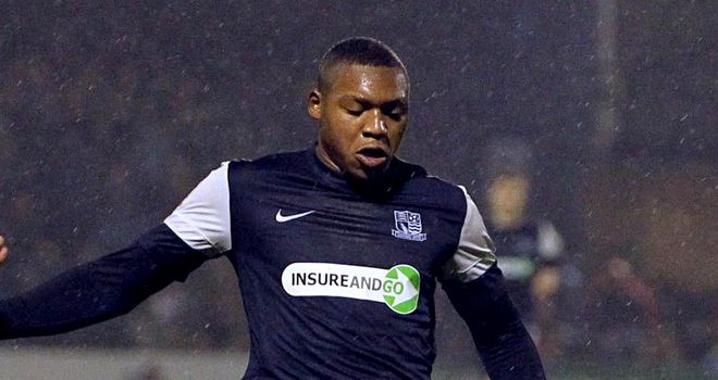 Britt Assombalonga: On target for Southend