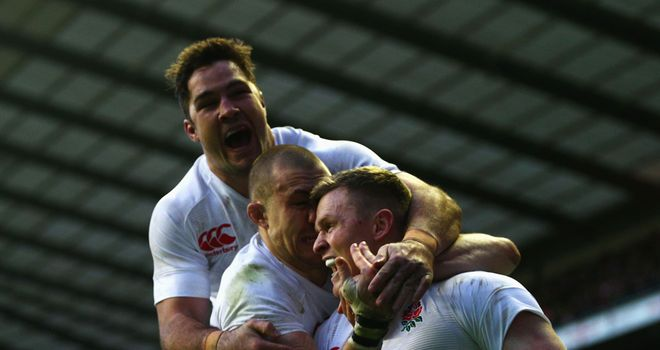 England enjoyed a famous 38-21 victory over the All Blacks