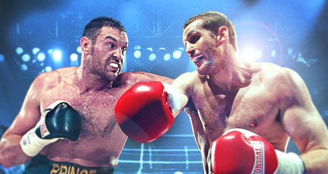 Heavyweights: Tyson Fury has publicly challenged David Price in the past