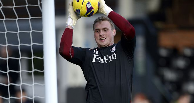 David Stockdale: Back with Fulham following loan spell at Hull City