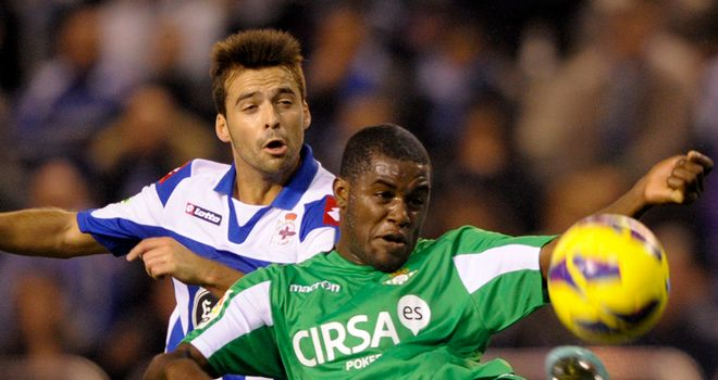 Joel Campbell: On target for Betis