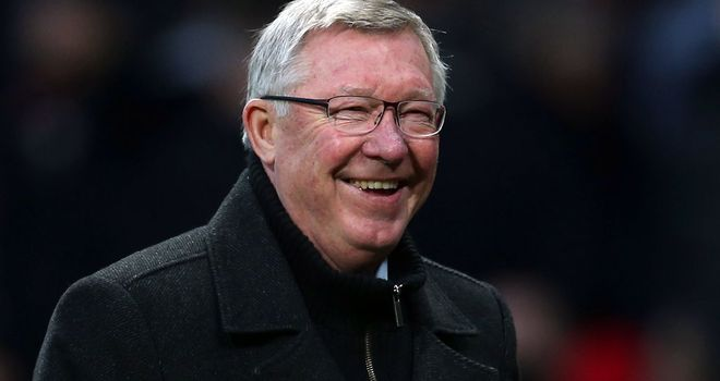 Sir Alex Ferguson: Sent a title warning to Manchester City