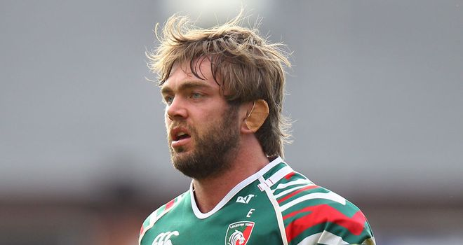 Geoff Parling: Offered the chance to sign a new contract with the Leicester Tigers