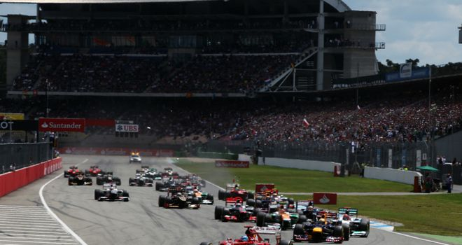 German Grand Prix: Will now take place on July 7