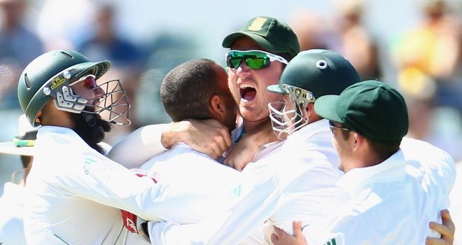 Graeme Smith: Delighted after South Africa's second successive series win in Australia