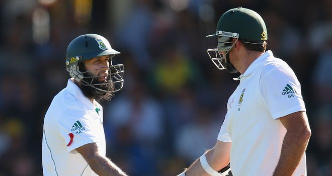 Hashim Amla and Graeme Smith batted superbly