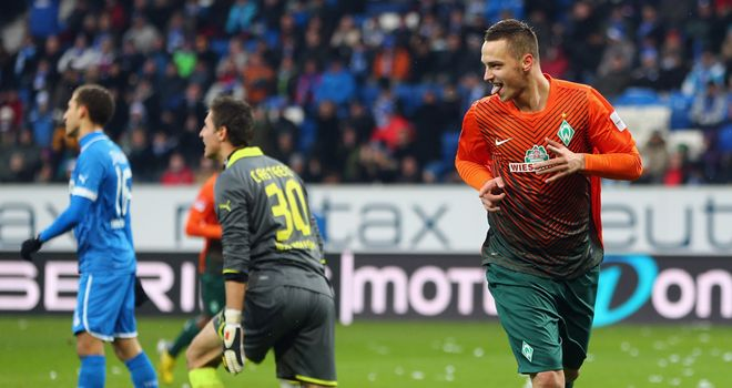Marko Arnautovic: Scored hat-trick for Werder Bremen