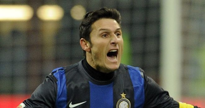 Javier Zanetti: Inter Milan veteran keen to carry on playing on after he turns 40 in August