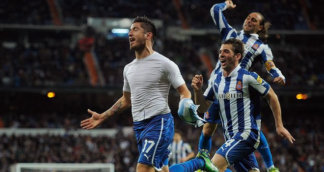Juan Albin earns Espanyol a late point