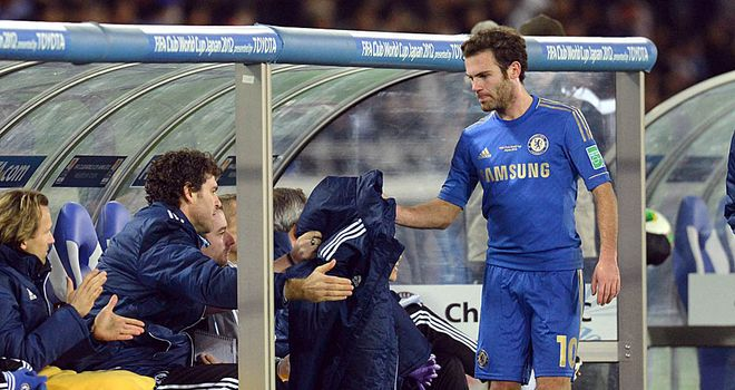 Juan Mata: Has promised fans that Chelsea will fight to deliver four trophies