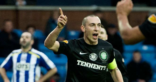 Scott Brown: Man of the match at Kilmarnock