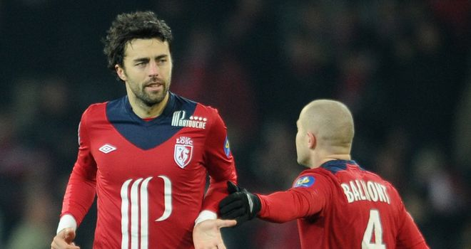 Marko Basa's last-gasp strike secured victory for Lille