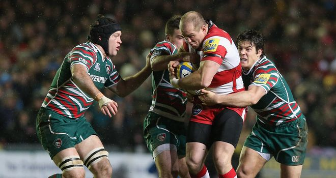 Mike Tindall: tough match for Gloucester