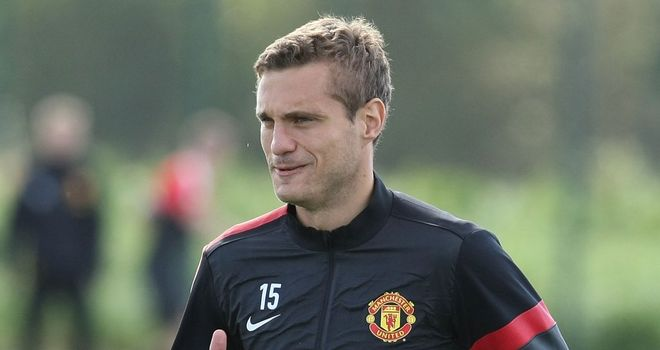 Nemanja Vidic: Manchester United defender is looking forward to playing again