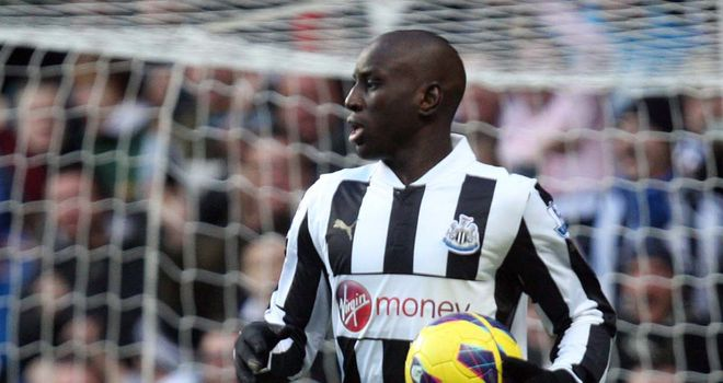 Demba Ba: Could leave Newcastle in January and has been linked with Arsenal
