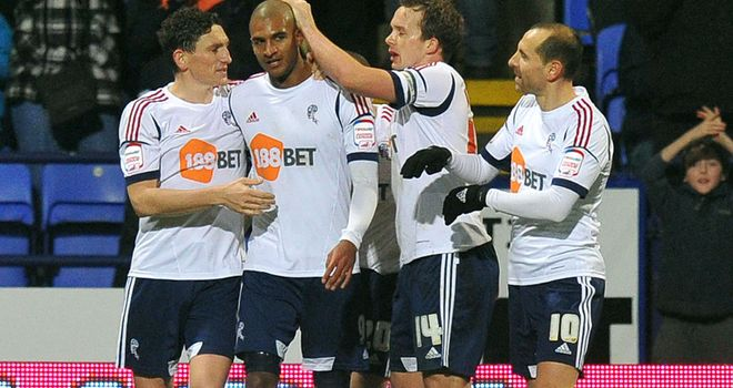 David Ngog: Scored twice for Bolton