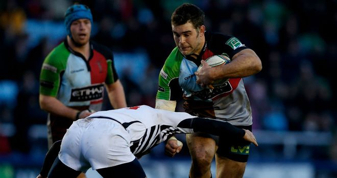 Nick Easter: Is back to captain Harlequins
