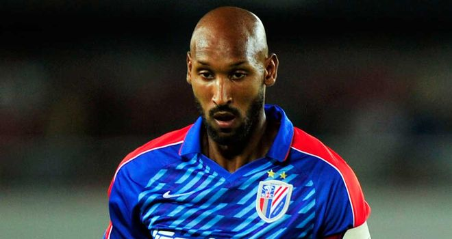 Nicolas Anelka: Set to train with his first club Paris Saint Germain
